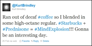 Caffeine + Prednisone + Mind Explosion