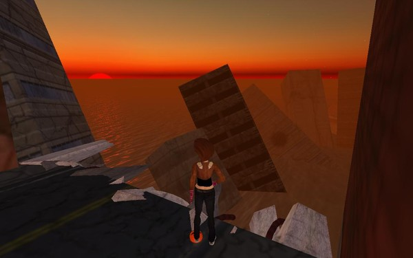 dystopia sector of nakama in second life