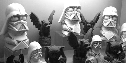 Darth Vader Gargoyles