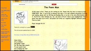 Poem Man Website