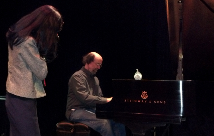 George Winston After-Concert Performance
