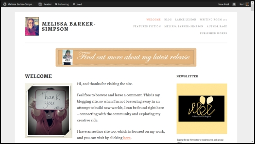 Melissa Barker-Simpson Website
