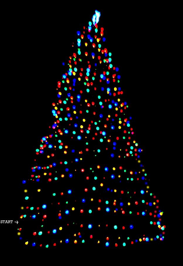 A Porteus Maze Christmas Tree