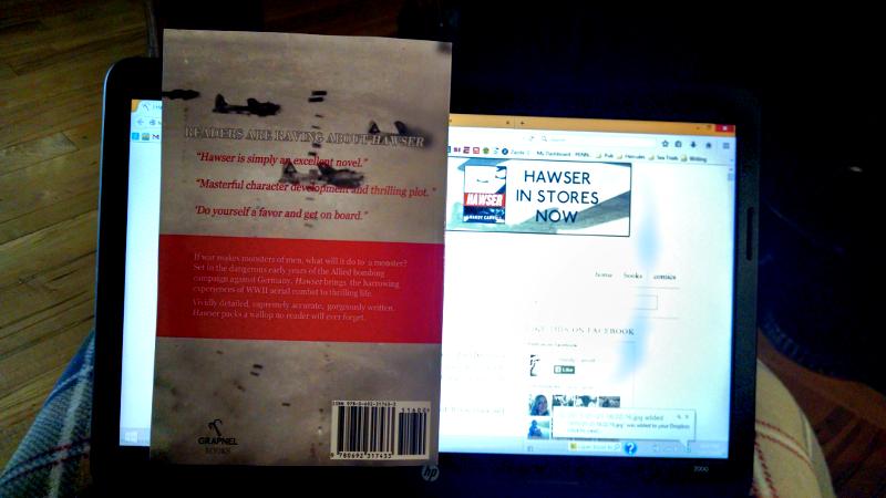 HAWSER by J Hardy Carroll