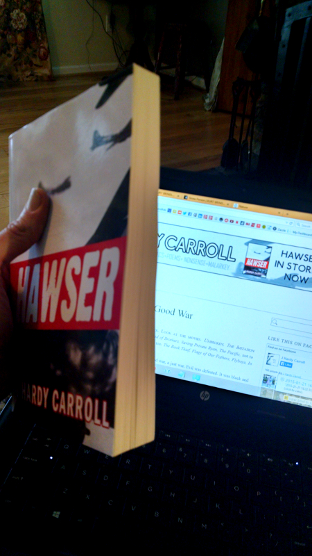 HAWSER by J Hardy Carroll