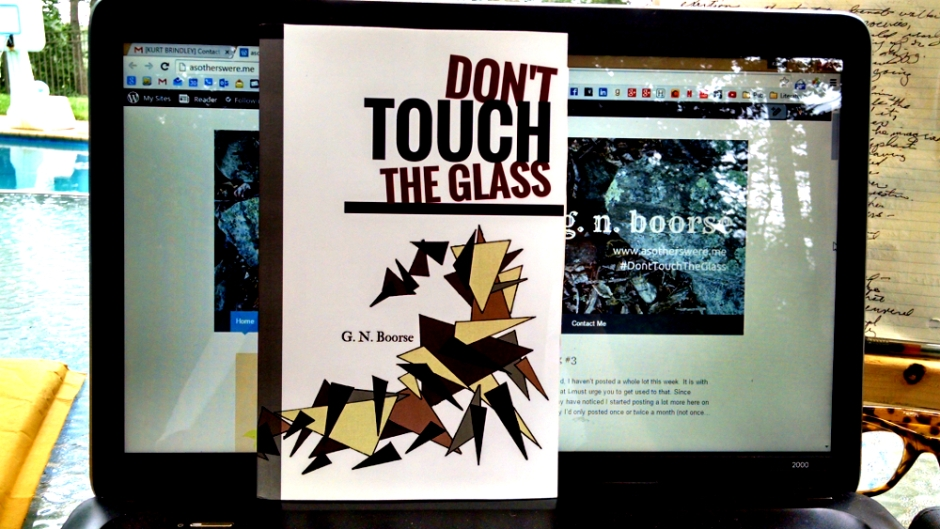 DON'T TOUCH THE GLASS front cover