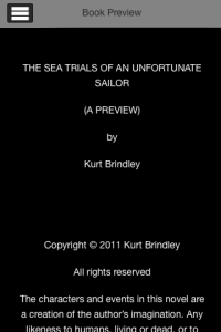 The Sea Trials of an Unfortunate Sailor Preview