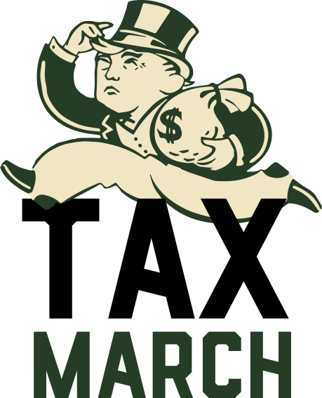 TRUMP'S TAX MARCH