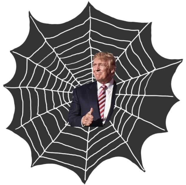 Tangled Trump